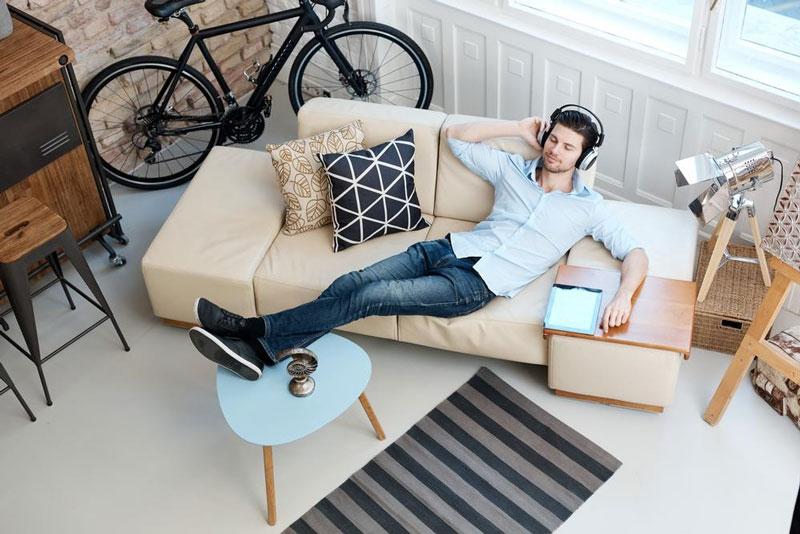 mua sofa vải