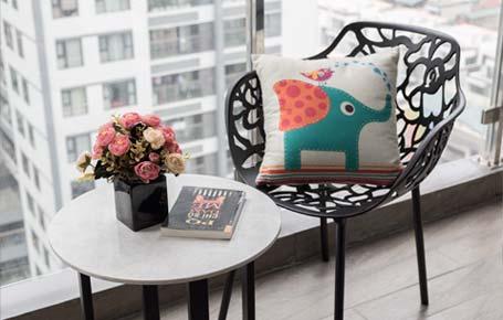 bàn trà bàn ghế ngoài trời nội thất kenli