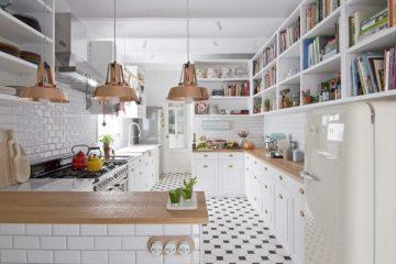 Căn hộ 45m² với nội thất trắng đẹp đến từng chi tiết nhỏ