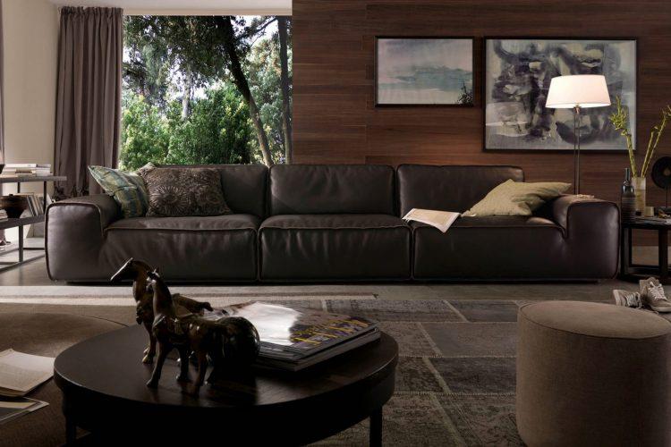 Sofa da Avenue văng 3 cao cấp