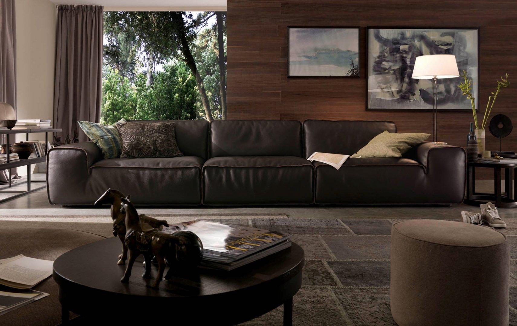 Sofa da Avenue văng 3 (L3880xW1220xH800)