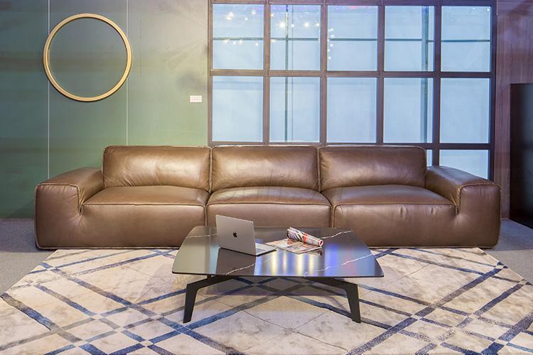 Sofa da Avenue văng 3 (L3880xW1220xH800)5