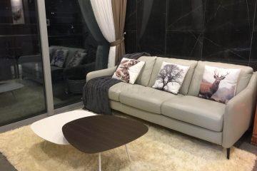 Sofa da thật E130 tại nhà chị Hạnh