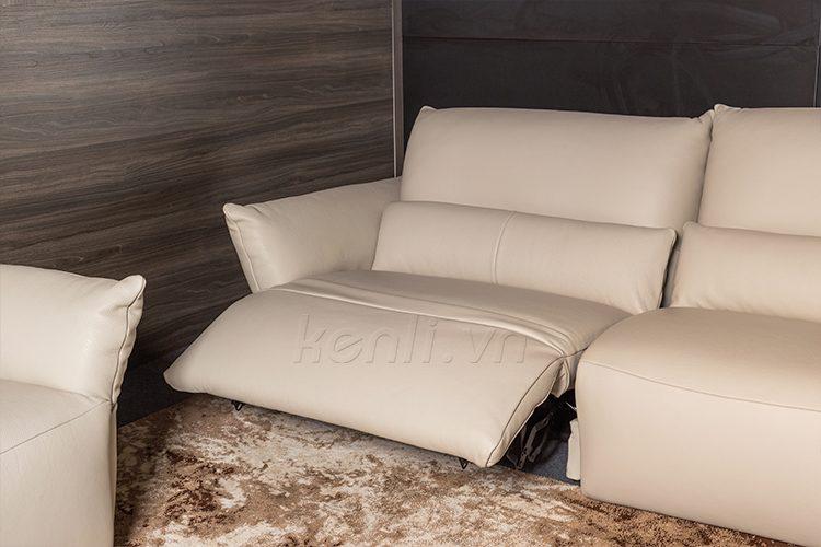 ghế sofa da Emma văng 2 có động cơ