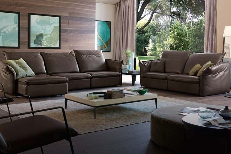 Sofa Kenli da thật Softy văng 3