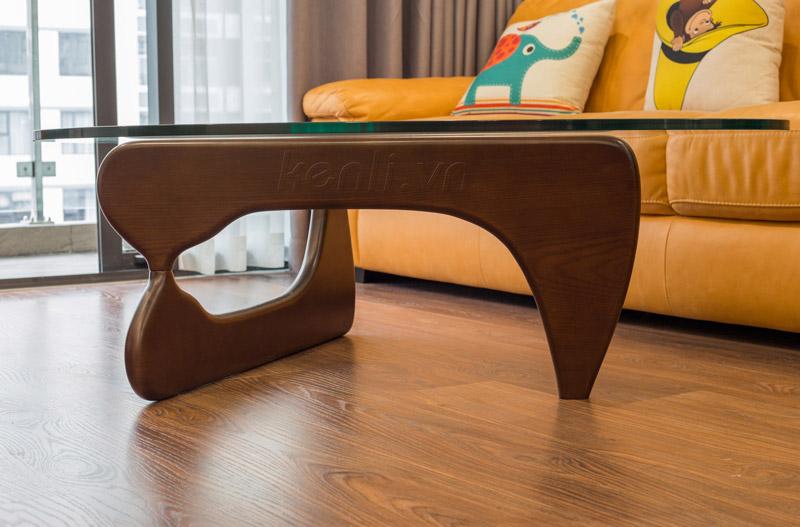chân bàn trà gỗ