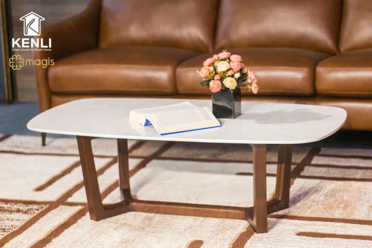 Mẫu bàn trà Concorde với thiết kế đơn giản thanh lịch