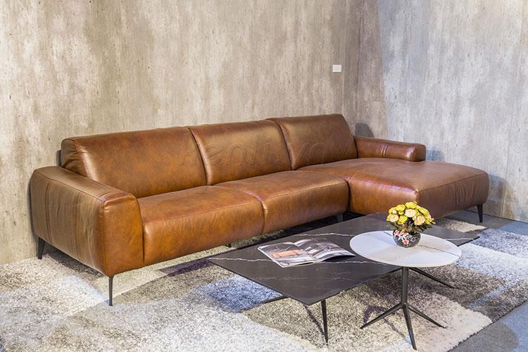 Ghế Sofa da thật E119