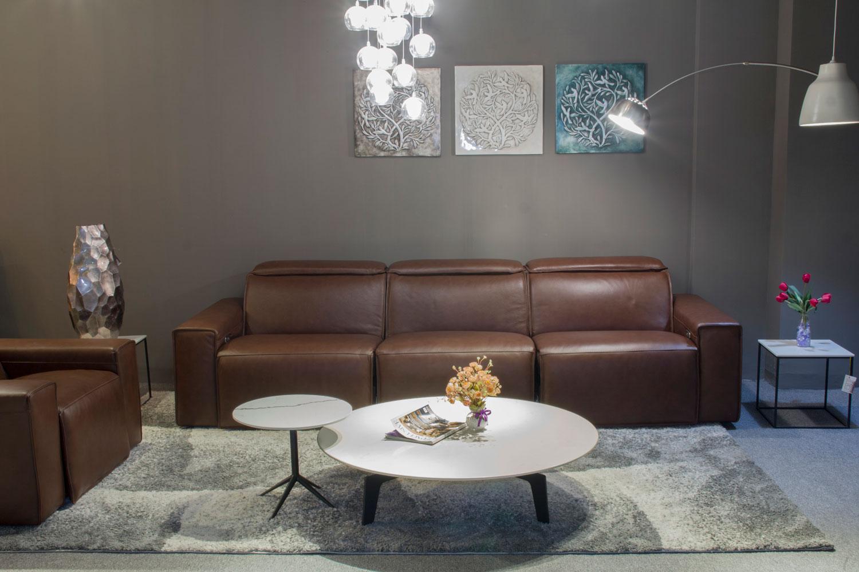 Sofa EE87 nâu