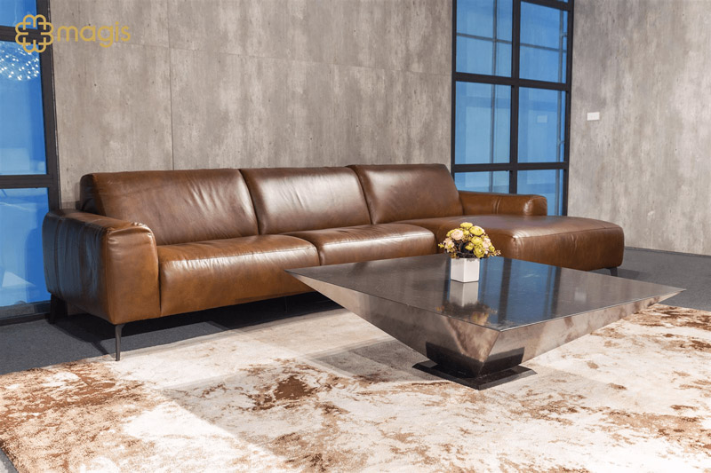 sofa da e119