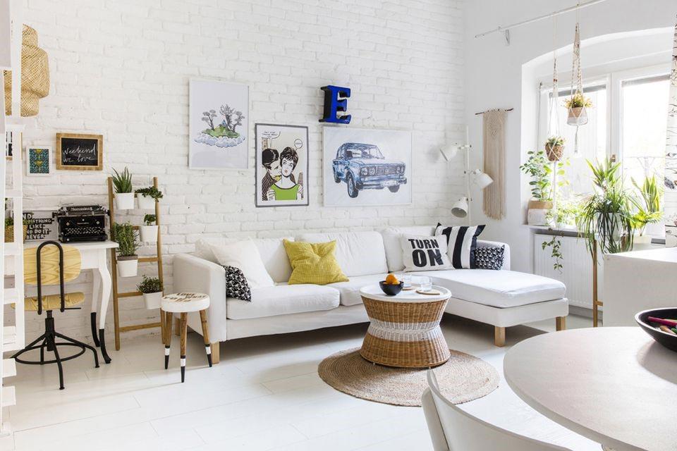 Một số mẹo trong thiết kế phòng khách đơn giản 2018