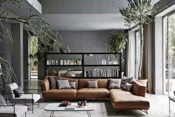 5 mẫu thiết kế phòng khách nội thất Italia ấn tượng