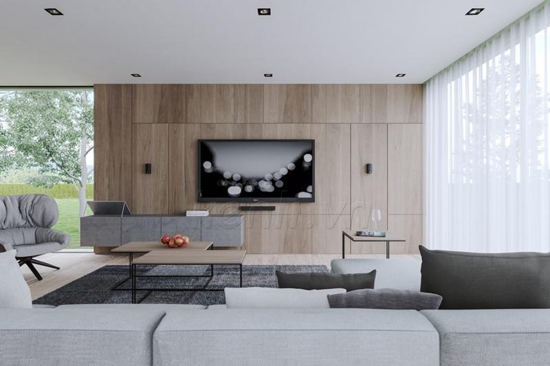 Phòng khách hiện đại Italy