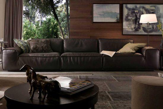 Sofa da thật Italia Avenue văng 3