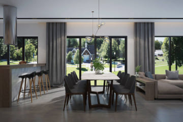 Những bộ bàn ăn 8 ghế đẹp, sang trọng 2018