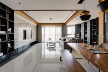Thiết kế phòng khách chung cư nhỏ mà đẹp theo phong cách hiện đại Italia