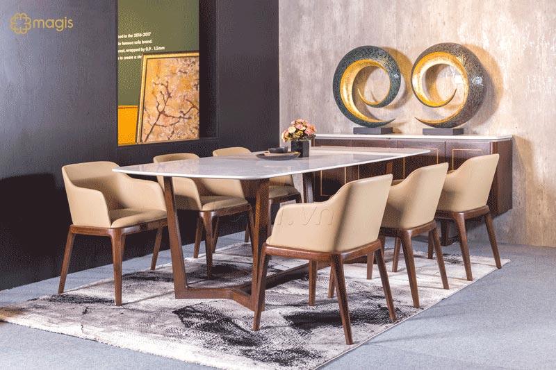 bàn ăn 6 ghế