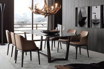 Những mẫu ghế ăn hoàn hảo cho bàn ăn Concorde