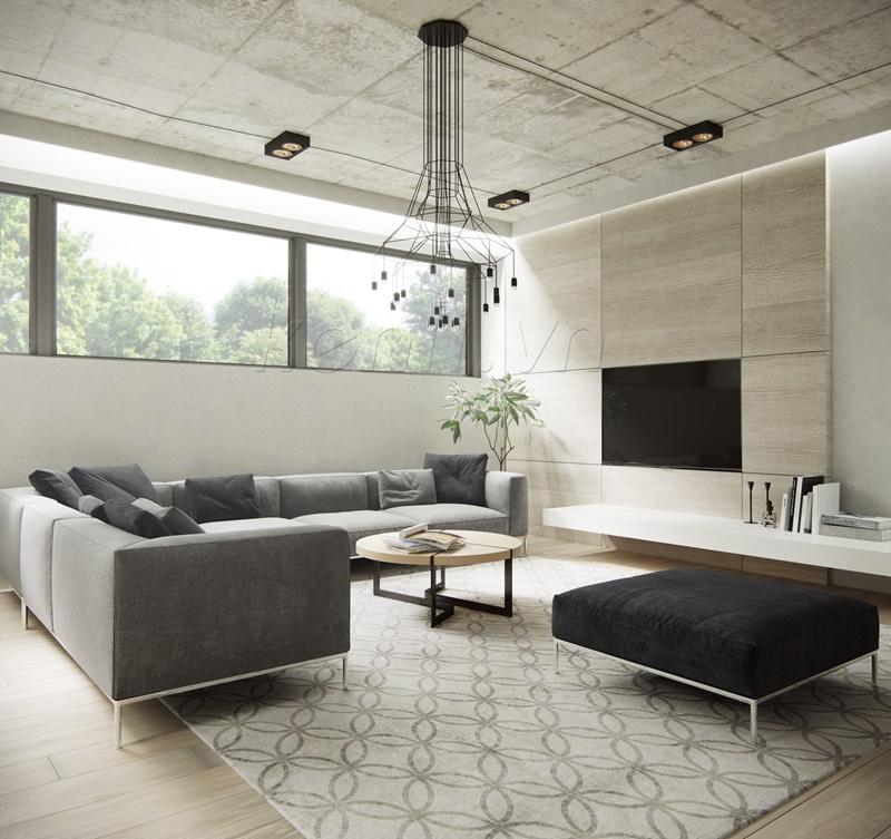 sofa hài hòa về màu sắc