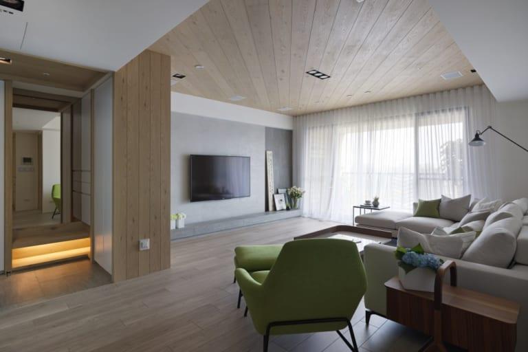 phòng khách phong cách hiện đại