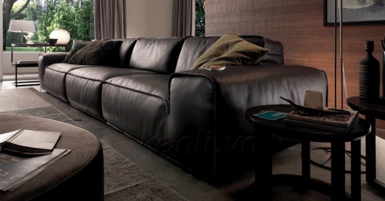 sofa da nhập khẩu Avenue