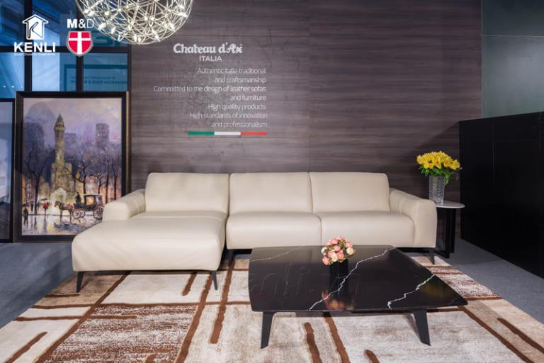 Sofa nhập khẩu Sissy màu trắng