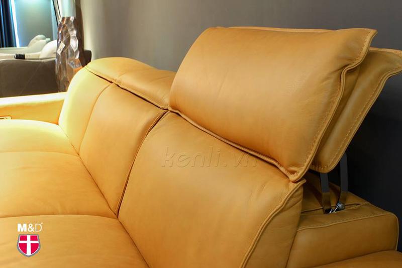 sofa thông minh màu vàng