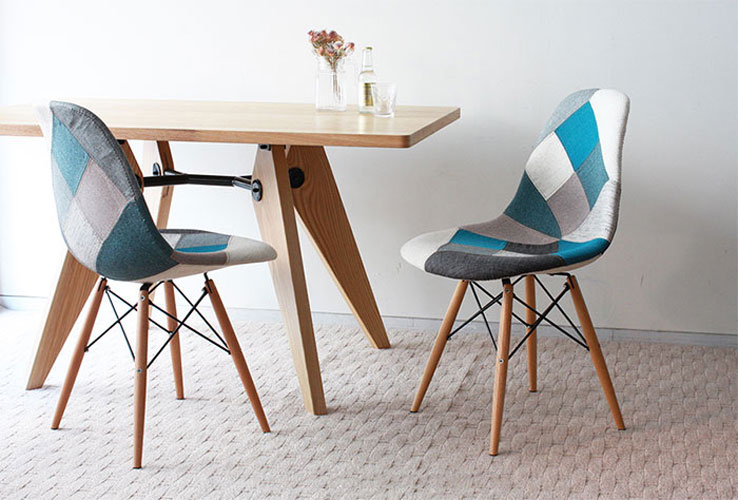 Ghế Eames Side Patchwork4