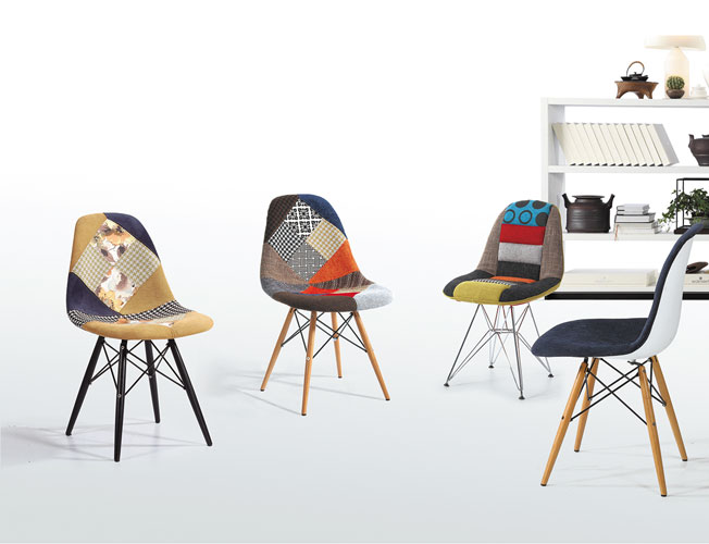 Ghế Eames Side Patchwork3