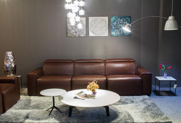 Sofa da thật EE87 văng 210