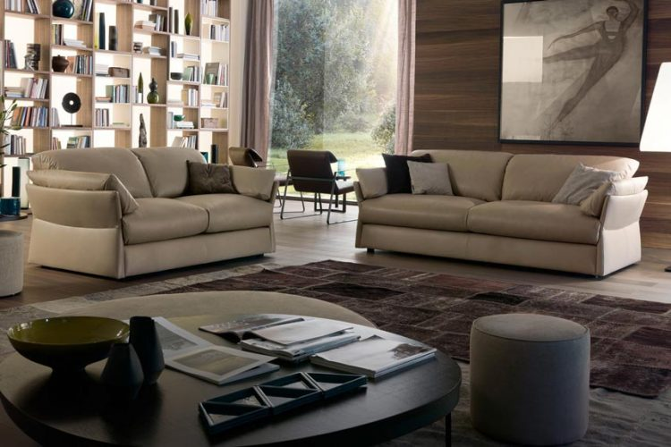 Sofa da thật Lady T thiết kế đẳng cấp