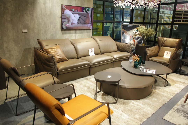 sofa da mềm nhập khẩu