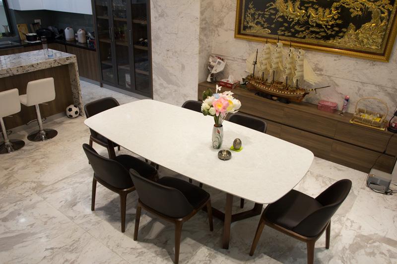 bàn ăn vicoston 6 ghế