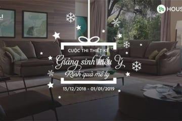 """""""Giáng sinh kiểu Ý – Rinh quà mê ly"""" cùng Nội thất Kenli"""