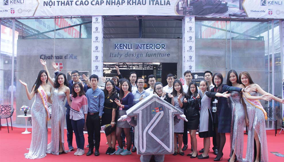 Gian hàng Kenli tại Vietbuild đón 5000 lượt khách tham quan