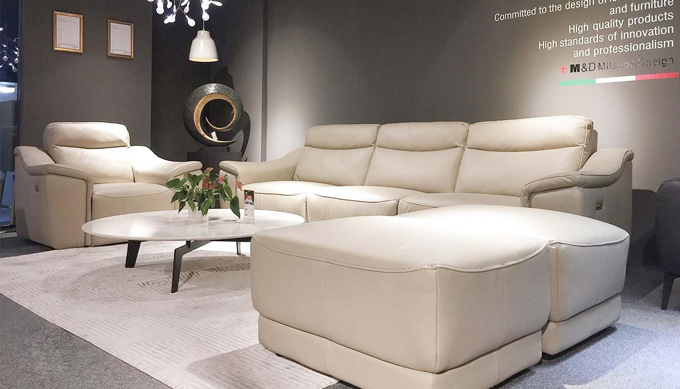 Sofa da thật EE27 – mang đến nét đẹp đẳng cấp cho ngôi nhà