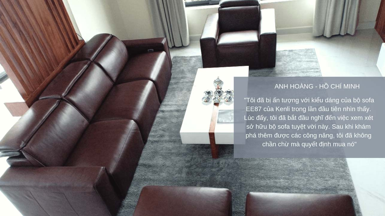 sofa canva sang trọng và hiện đại