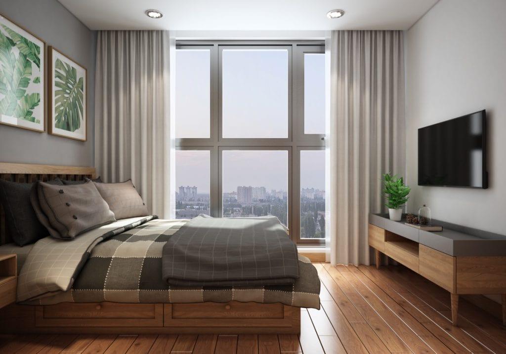 phòng ngủ mát mẻ