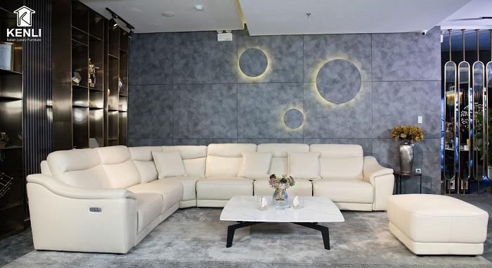 Thiết kế Sofa quây có động cơ tại Kenli