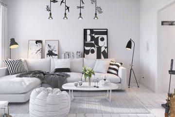 Những lưu ý với thiết kế phòng khách chung cư hiện đại