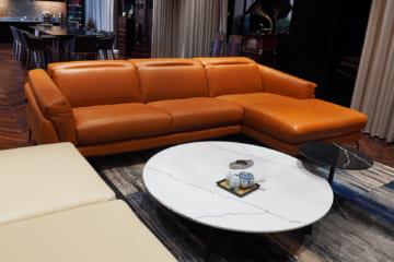 Sofa da MD F021 – Anh Bằng – Lê Đức Thọ