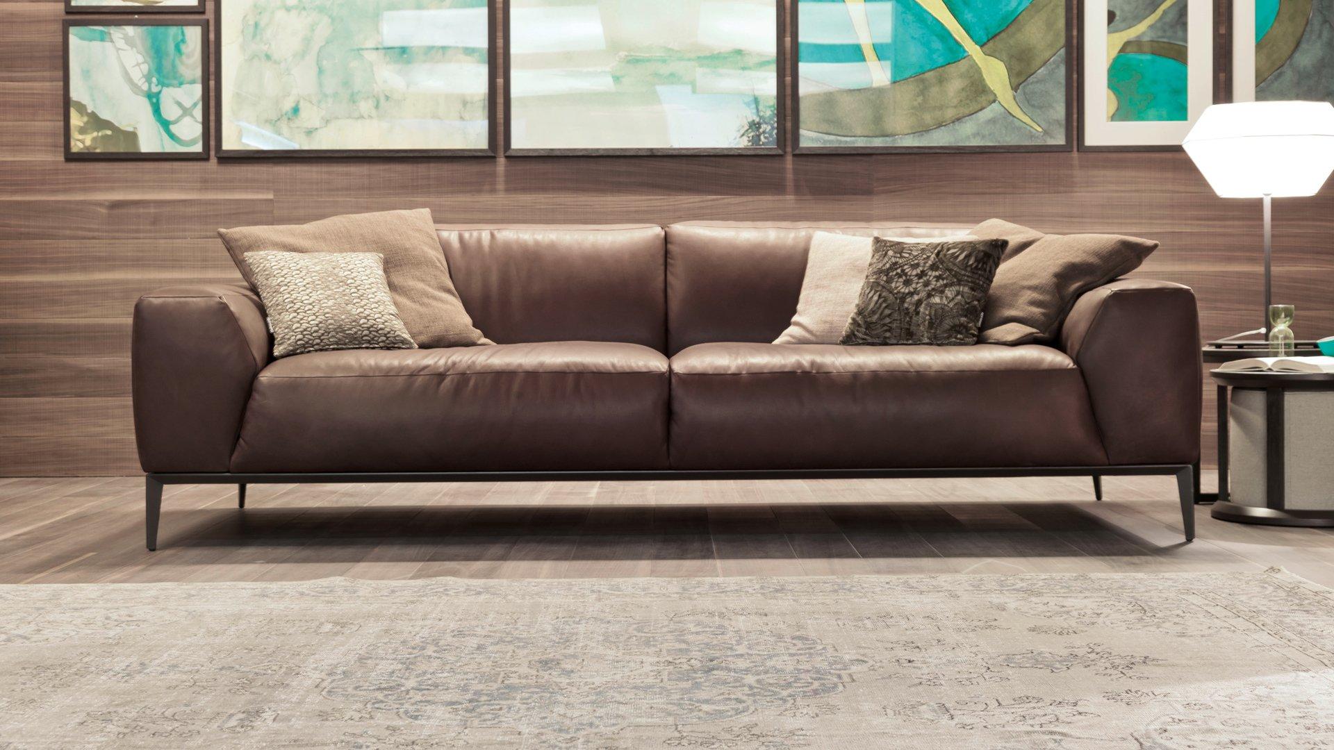Sofa Xconfort - sofa da thật nhập khẩu Italia
