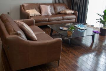 Sofa E130, bàn trà BaBa, bàn ghế ăn Howard Grace – chị Trang, Vinhomes Green Bay Hà Nội