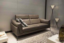 Sofa da thật F021 văng 2 lớn (L2100xW1080xH750)