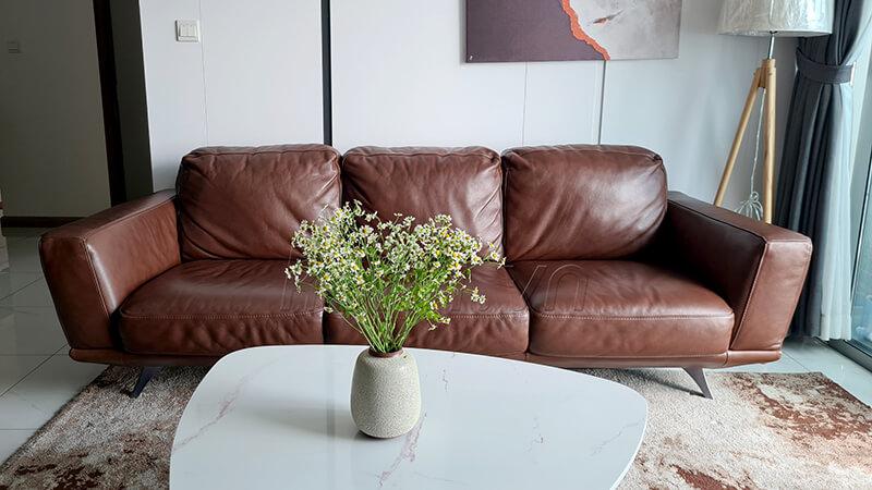 Sofa da cao cấp Gemma