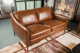 Sofa da thật E130 văng 2 (L1500xW1000xH810)
