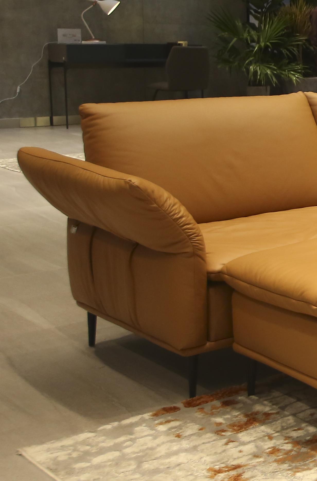 Sofa da thật F026 văng 23