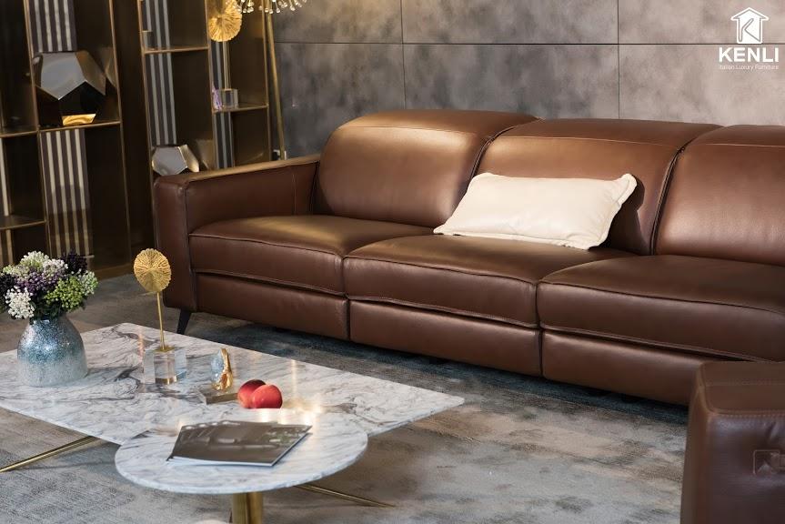 Sofa da thật FE10 văng 34