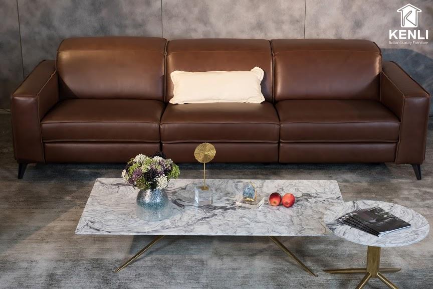 Sofa da thật FE10 văng 36