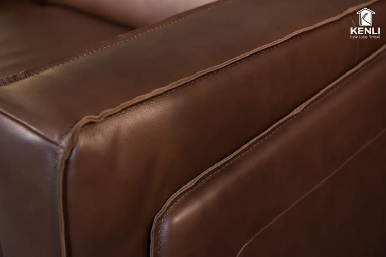 Sofa da thật FE10 v3 từng chi tiết nhỏ đều tính toán kỹ